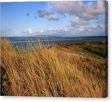 Fort Stevens State Park Canvas Print - Columbia River From Clatsop Spit, Fort by Panoramic Images