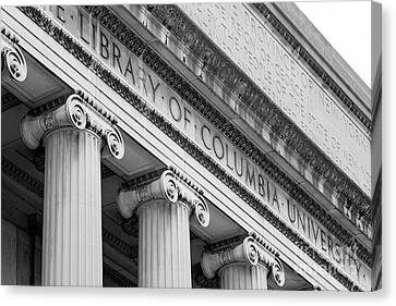 Columbia University Low Memorial Library Canvas Print by University Icons