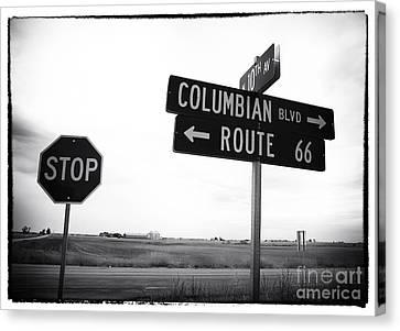 Columbian Boulevard Canvas Print by John Rizzuto