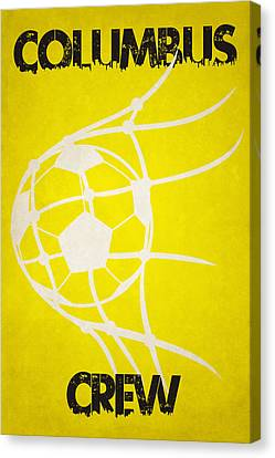 Columbus Crew Goal Canvas Print