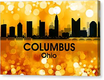 Columbus Oh 3 Canvas Print by Angelina Vick