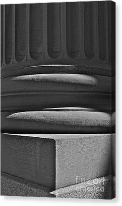 Canvas Print featuring the photograph Column 1 by Linda Bianic