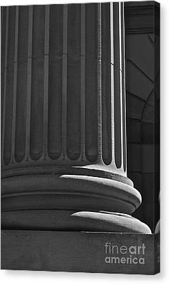Canvas Print featuring the photograph Column 2 by Linda Bianic