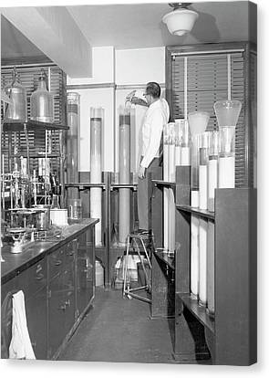 Column Chromatography Canvas Print by Food & Drug Administration