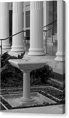 Column Entrance Canvas Print by Ivete Basso Photography