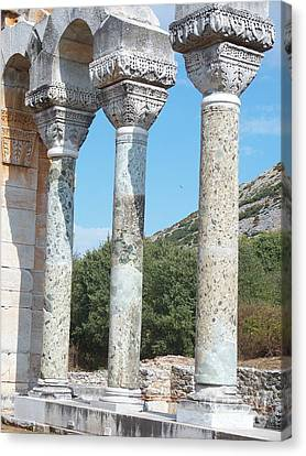 Columns Canvas Print