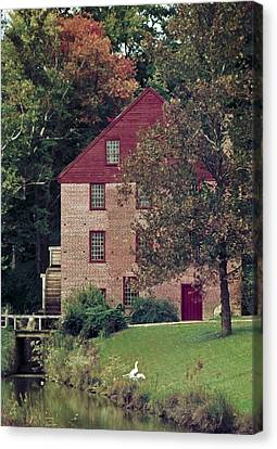 Colvin Run Mill Canvas Print by Greg Reed