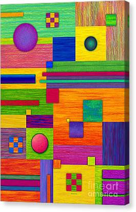 Combination 2 Canvas Print by David K Small