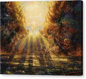 Destruction Canvas Print - Come Lord Come by Graham Braddock
