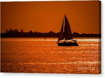 Come Sail Away Canvas Print by Edward Fielding