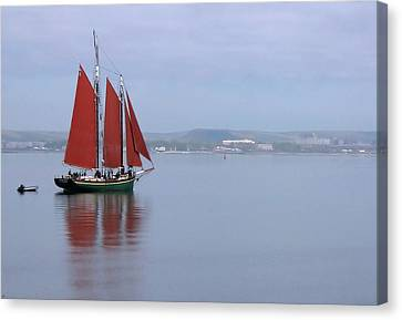 Come Sail Away Canvas Print by Karol Livote