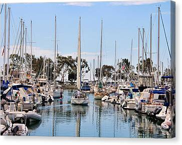 Come Sail Away Canvas Print by Tammy Espino