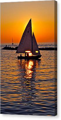 Come Sail Away With Me Canvas Print by Frozen in Time Fine Art Photography