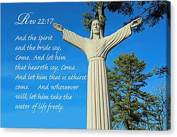 Come To Jesus Canvas Print by Lorna Rogers Photography