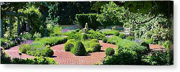 Come To My Garden Canvas Print by Bruce Bley