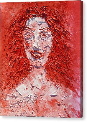 The Laughter Of Medusa Canvas Print