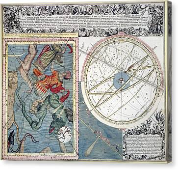 Cosmology Canvas Print - Comet, 1742 by Granger