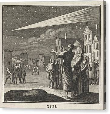 Comet, Caspar Luyken, Christoph Weigel Canvas Print