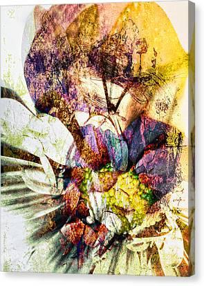 Comfort In Grief Canvas Print