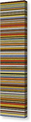 Comfortable Stripes Vll Canvas Print by Michelle Calkins