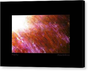 Comfy And Cozy Canvas Print