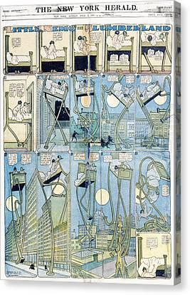 Comic Strip Little Nemo Canvas Print by Granger