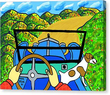 Comin' Round The Mountain Canvas Print