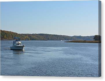 Coming Ashore Canvas Print by Kenneth Cole