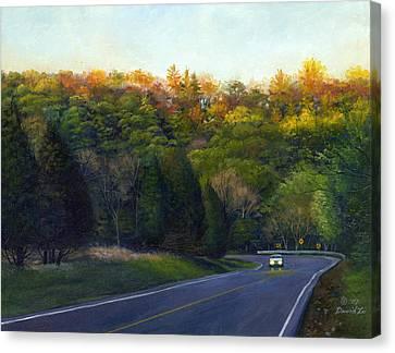 Coming Home Canvas Print by David Xiaoping Xu