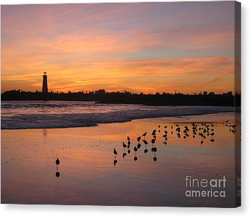 Canvas Print featuring the photograph Coming Home by Theresa Ramos-DuVon