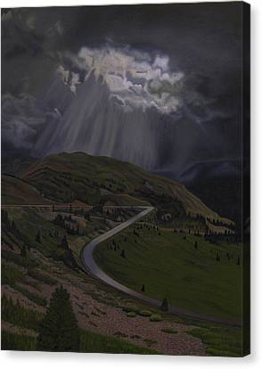 Coming Home To God Canvas Print by Thu Nguyen