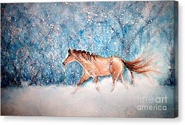 Coming Home Canvas Print by Janine Riley
