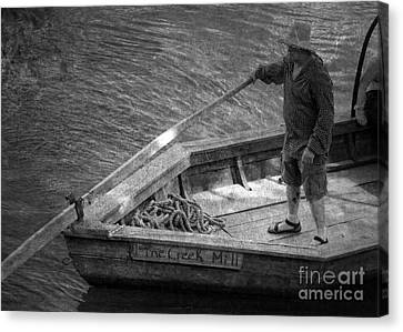 Canvas Print featuring the photograph Coming Into Port by Pete Hellmann