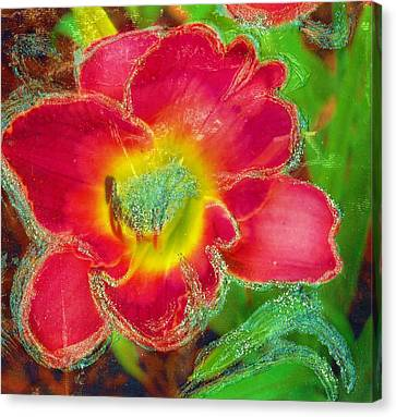 Coming To Life Canvas Print by Anne-Elizabeth Whiteway