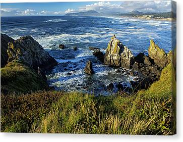 Coming Together Canvas Print by Belinda Greb