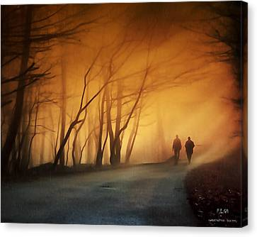 Coming Together Canvas Print by Pedro L Gili