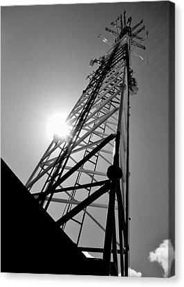 Comm Tower Canvas Print