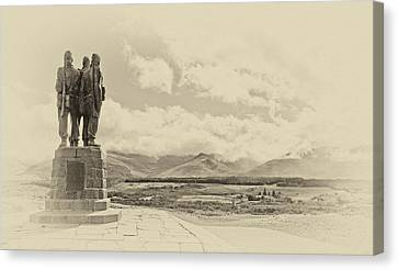 Commando Memorial 3 Canvas Print