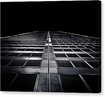 Canvas Print featuring the photograph Commerce Court West 1 by Brian Carson