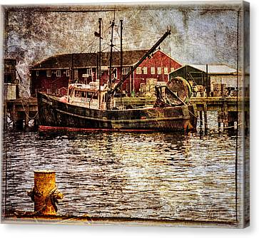 Commercial Fishing Boat Canvas Print by Bob Orsillo