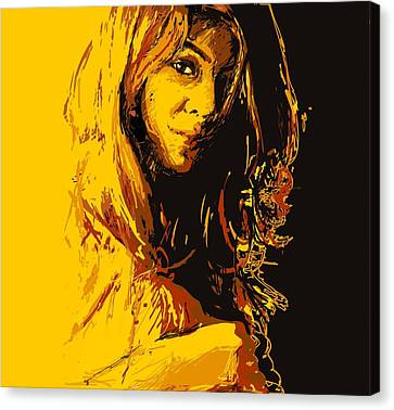 Commissioned Portraits Canvas Print by Catf