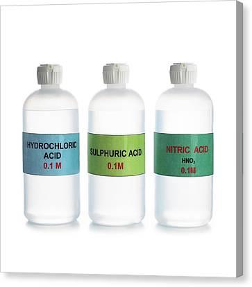 Common Acids Canvas Print