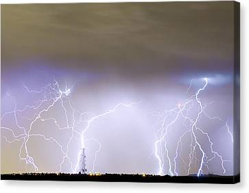 Lightning Decorations Canvas Print - Communication Breakdown by James BO  Insogna