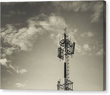 Communication Tower Canvas Print by Marco Oliveira
