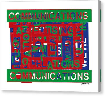 Communications Breakdown Canvas Print by Agustin Goba