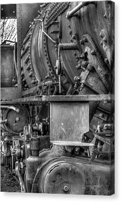 Canvas Print - Comox Logging Engine No.11 by R J Ruppenthal