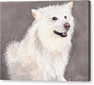 Companion Canvas Print by Anastasiya Malakhova