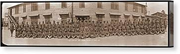 Company E. 371st Infantry Camp Jackson Canvas Print