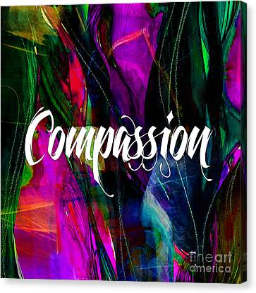 Compassion Wall Art Canvas Print by Marvin Blaine