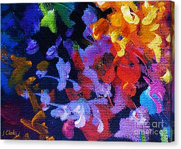 Complementary Canvas Print by John Clark